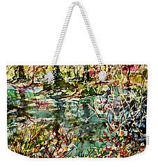 Pond And Beyond Weekender Tote Bag by Alfred Motzer