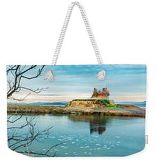Pond And Geyser Weekender Tote Bag