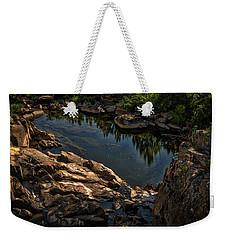 Pond At Great Falls Weekender Tote Bag