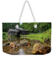 Pond At Mabry Mill Weekender Tote Bag