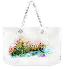 Sunrise Pond Weekender Tote Bag