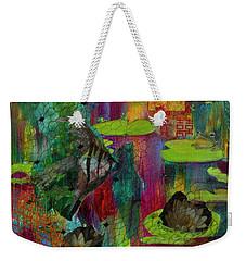 Pond Impressions Weekender Tote Bag