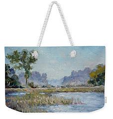 Pond In The Woods 1 Weekender Tote Bag