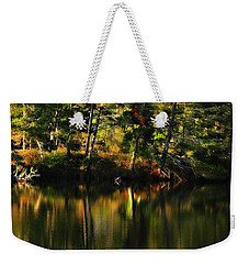 Pond Reflections Weekender Tote Bag by Katie Wing Vigil