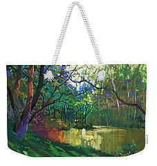Pond Story Weekender Tote Bag