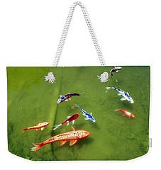 Pond With Koi Fish Weekender Tote Bag
