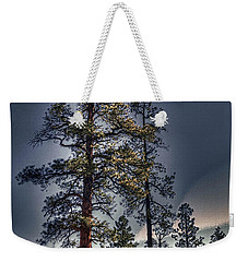Ponderosa Pines At The Bonito Lava Flow Weekender Tote Bag
