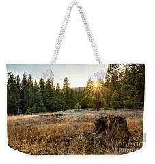 Ponderosa Sunset Weekender Tote Bag