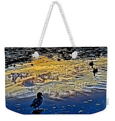 Pondscape Weekender Tote Bag by Jeffrey Friedkin