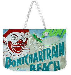 Pontchartrain Beach Weekender Tote Bag