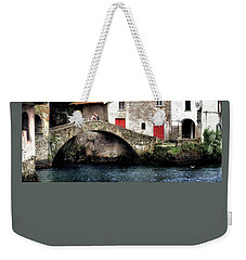 Weekender Tote Bag featuring the photograph Ponte Della Civera by Jim Hill