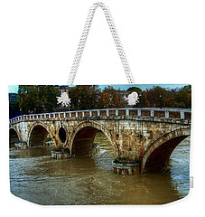 Ponte Sisto Bridge Rome Weekender Tote Bag