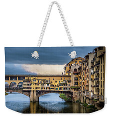 Ponte Vecchio E Gabbiani Weekender Tote Bag