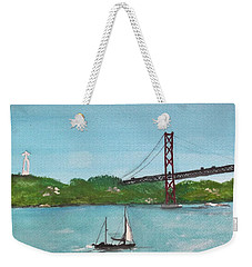 Ponte Vinte E Cinco De Abril Weekender Tote Bag