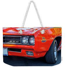 Pontiac G T O Judge 1969 Convertible Weekender Tote Bag