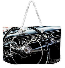 Weekender Tote Bag featuring the photograph Pontiac Gto by Brad Allen Fine Art