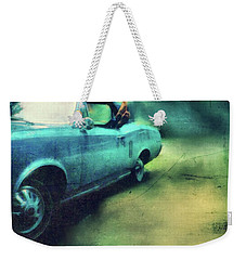 Pontiac Lemans With Bare Feet Weekender Tote Bag