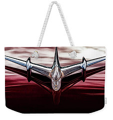 Weekender Tote Bag featuring the photograph Pontiac Star Chief by Brad Allen Fine Art