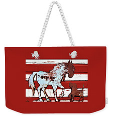Pony And Pup 3 Weekender Tote Bag