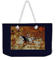 Pony Express Rider Weekender Tote Bag by Larry Campbell