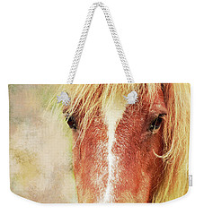 Pony Portrait Weekender Tote Bag