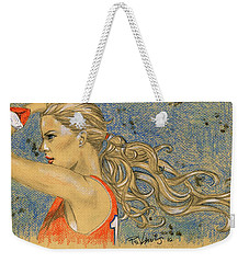 Ponytail Run Weekender Tote Bag