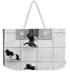 Ponytails Weekender Tote Bag by Hugh Smith