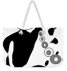 Poodle Dog Tricks Weekender Tote Bag