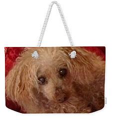 Poodle Love Weekender Tote Bag