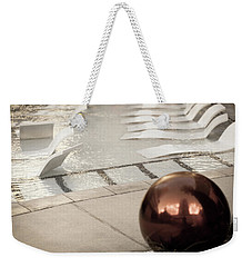 Pool Ball Weekender Tote Bag