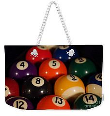 Pool Balls Weekender Tote Bag