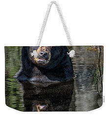 Pool Break Weekender Tote Bag