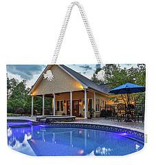 Pool House Weekender Tote Bag