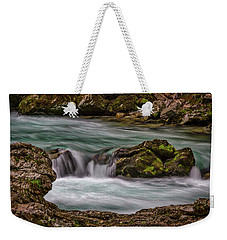Weekender Tote Bag featuring the photograph Pool In The River by Stuart Litoff