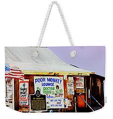 Poor Monkey's Juke Joint Weekender Tote Bag