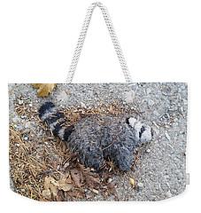 Poor Trash Panda Weekender Tote Bag