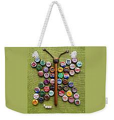 Pop Art Butterfly Weekender Tote Bag