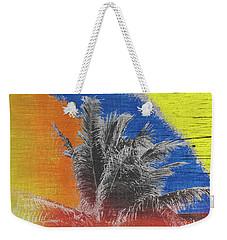 Pop Art Coconut Tree Retro Tropical Vintage Palm  Weekender Tote Bag