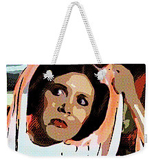 Pop Art Princess Leia Organa Weekender Tote Bag
