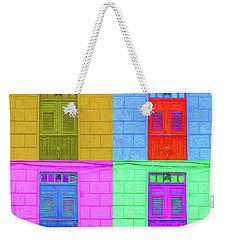 Pop Doors Weekender Tote Bag
