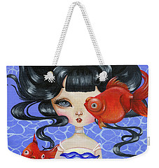 Pop-eyed Goldfish Weekender Tote Bag