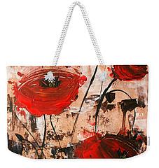 Pop Goes The Poppies Weekender Tote Bag