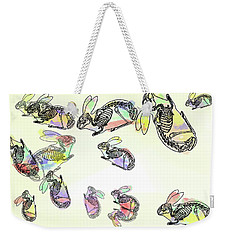 Pop Goes The Rabbit 2 Weekender Tote Bag