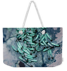Weekender Tote Bag featuring the photograph Pop Macro No. 1 by Laura Melis