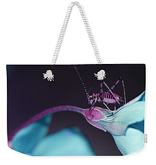 Weekender Tote Bag featuring the photograph Pop Macro No. 3 by Laura Melis