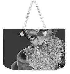 Popcorn Sutton Black And White Transparent - T-shirts Weekender Tote Bag