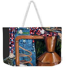 Popcorn Sutton Moonshiner -t-shirt Transparrent Weekender Tote Bag