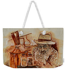 Popcorn Sutton - Waiting On Shine Weekender Tote Bag