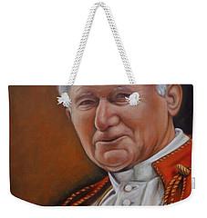 Pope John Paul Weekender Tote Bag