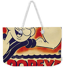 Popeye Technicolor Weekender Tote Bag